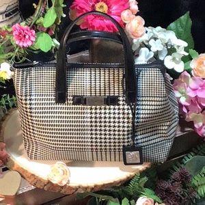 Lauren By Ralph Lauren Houndstooth Handbag